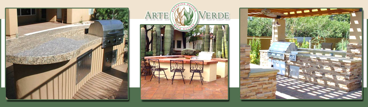 Outdoor Kitchens & BBQ Islands Scottsdale & Phoenix