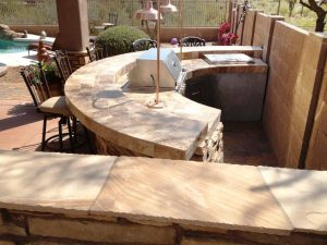 outdoor kitchen scottsdale az