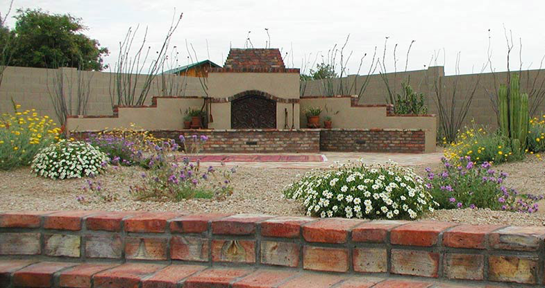 Backyard Xeriscape Landscapers Phoenix Scottsdale